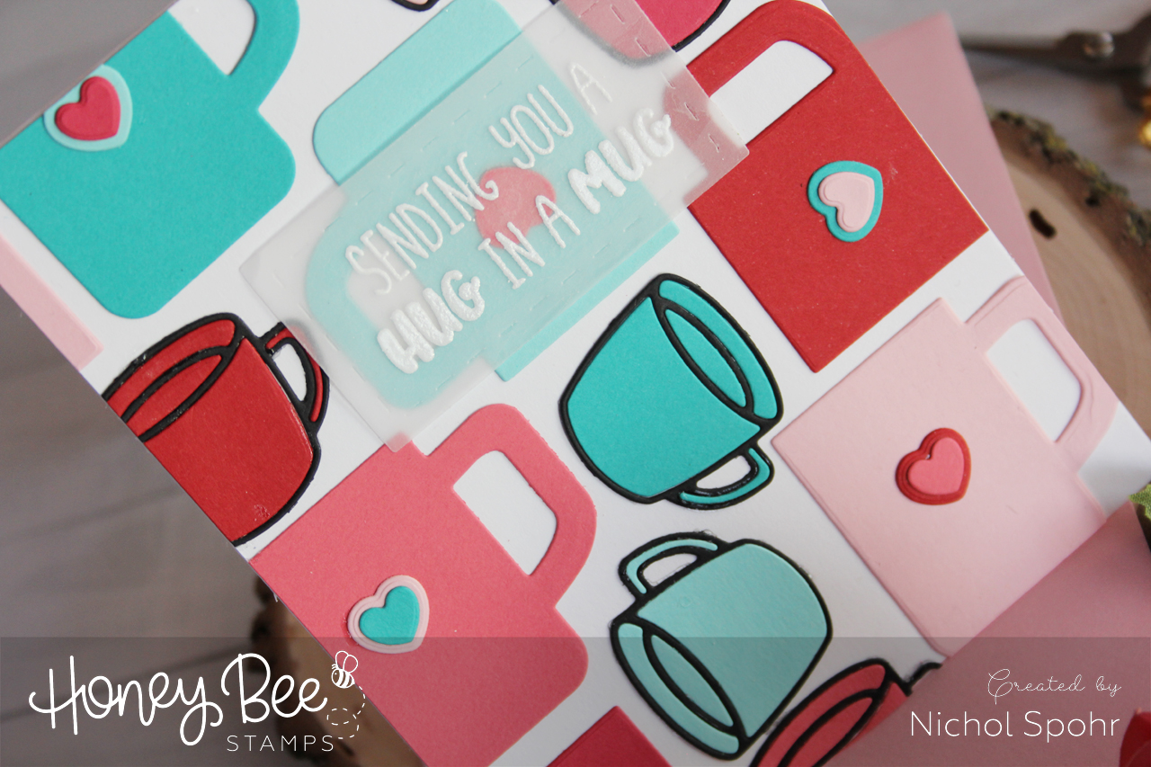 Custom Die Cut Background | Hug In A Mug