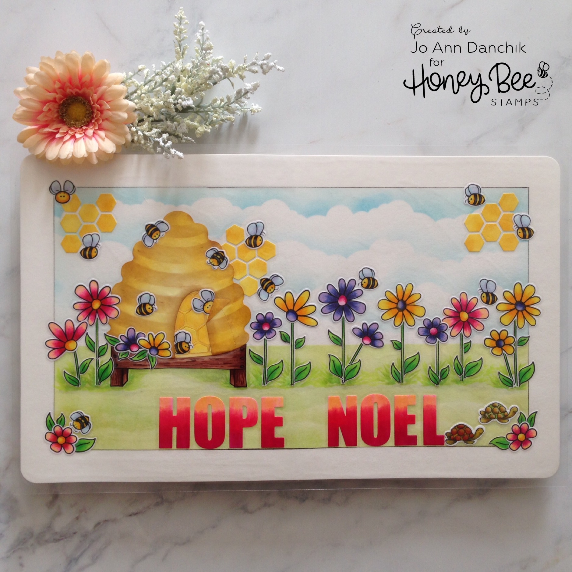 Creative Sundays With Jo Ann: Whimsical Garden Placemat