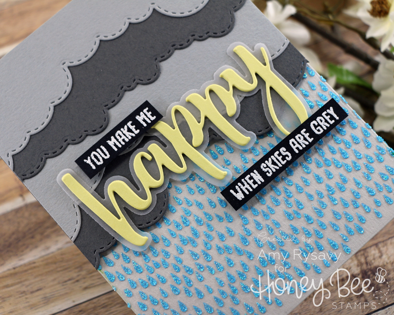 Cloudy Skies | Die-cut Scene Card with Amy Rysavy