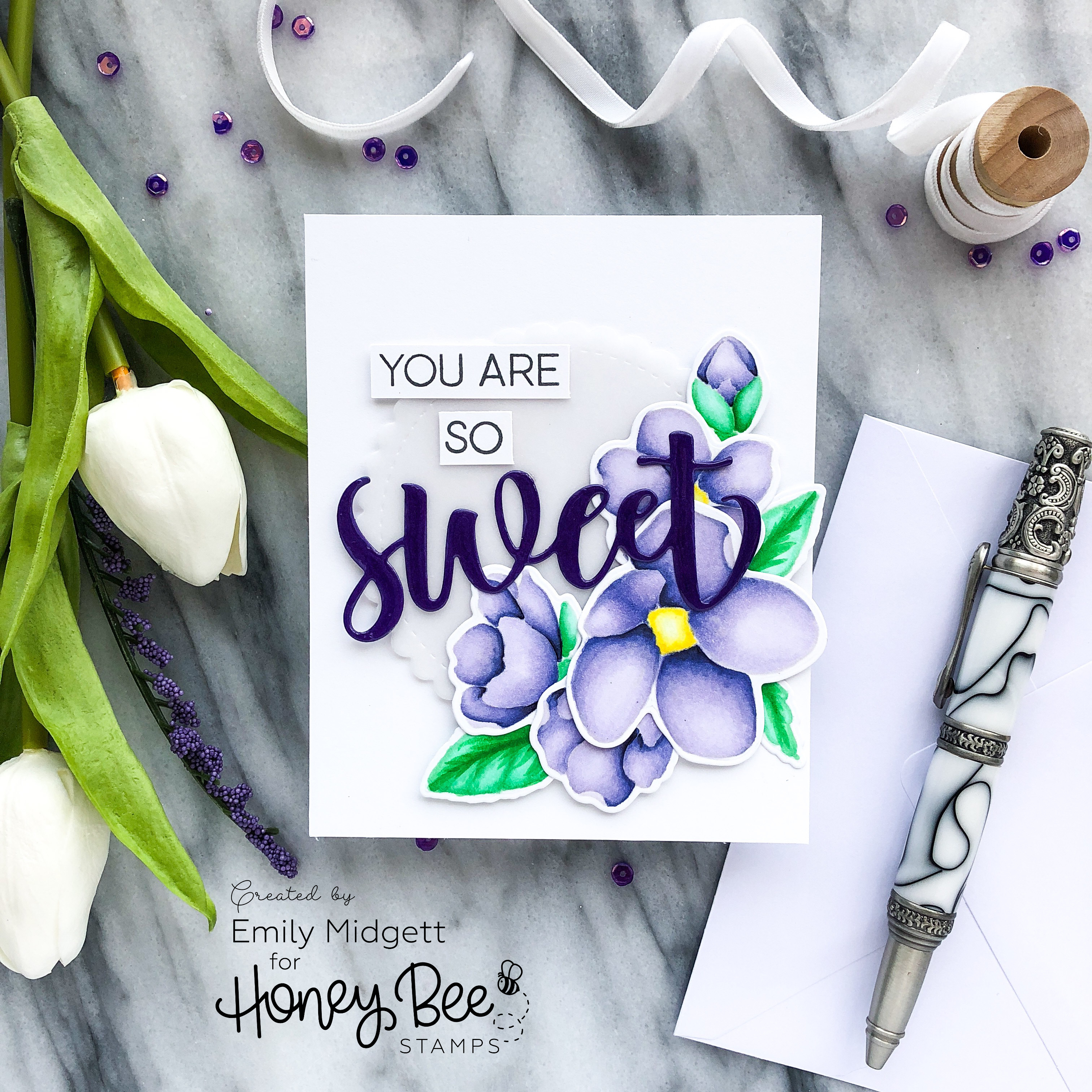 You are so sweet! – Honey Bee Stamps