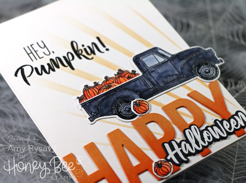 Halloween Pickup Truck Card with Amy Rysavy