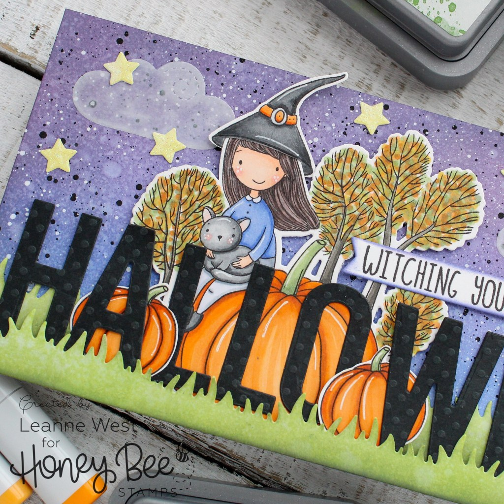 witching you a happy halloween – honey bee stamps