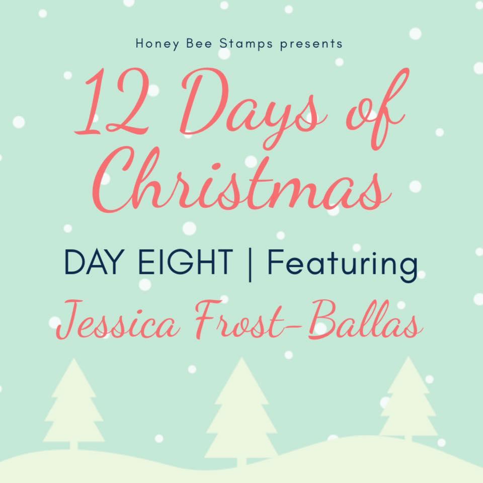 Twelve Days of Christmas – Day Eight Designer: Jessica Frost-Ballas