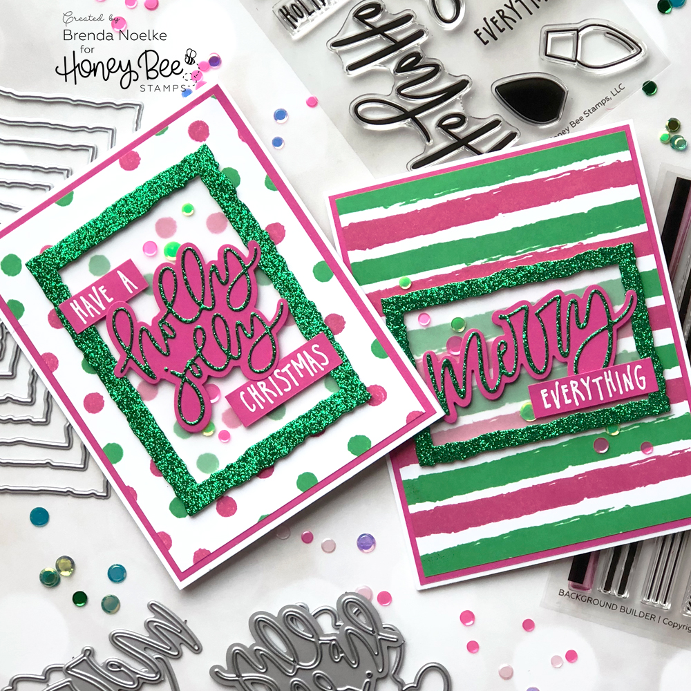 Non-Traditional Christmas Card Colors – Honey Bee Stamps