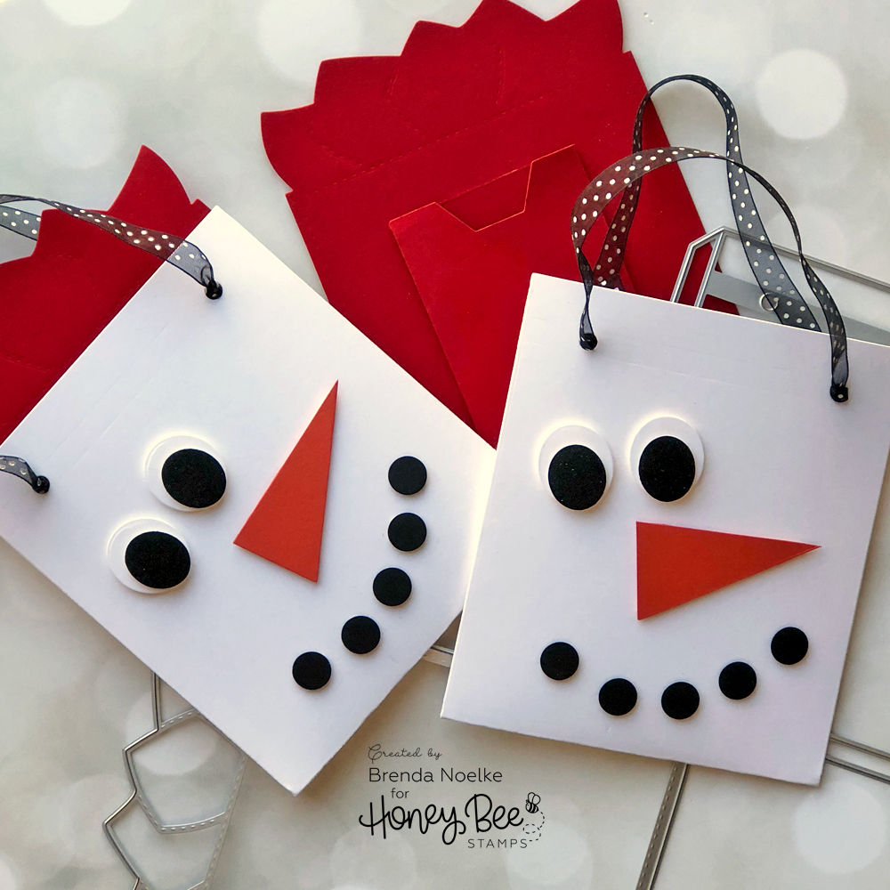 Snowman Gift Bag – Gift Card Holder