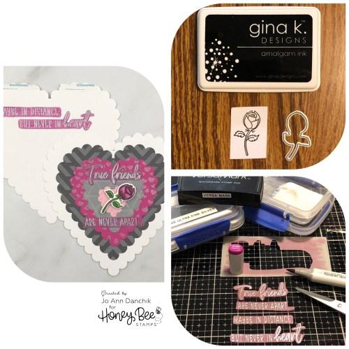 Creative Sundays With Jo Ann: Scalloped Heart Valentine