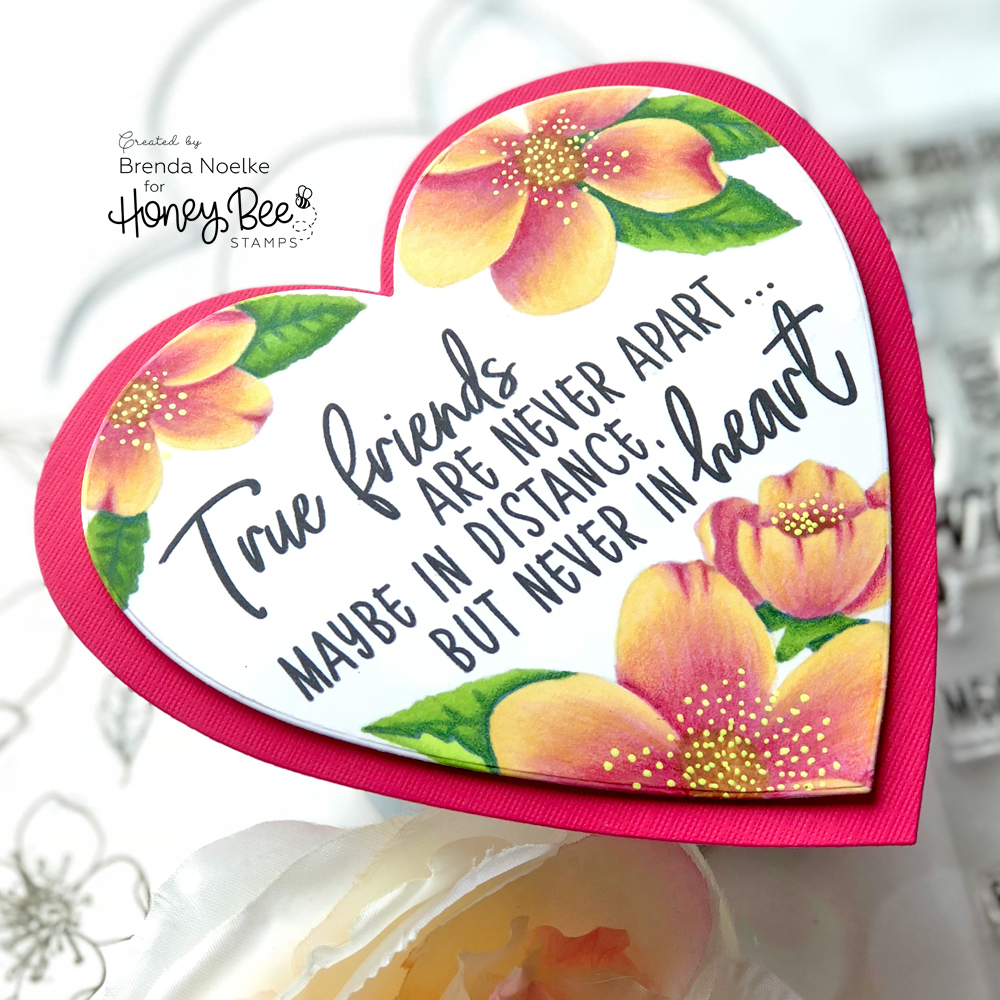 Friendship Heart Card