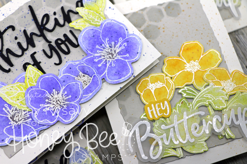 Easy No Watercolor Floral Cards with Amy Rysavy