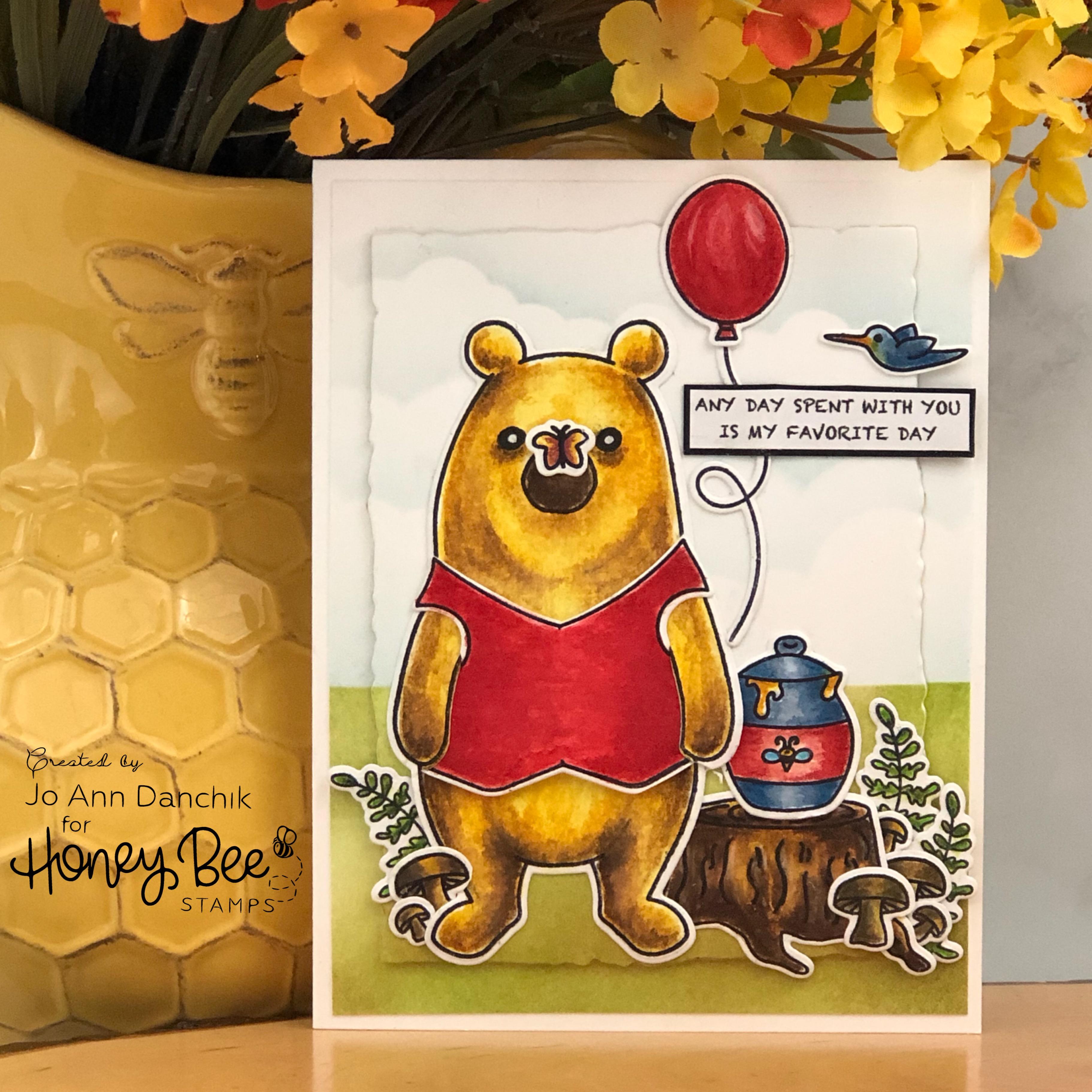 """Creative Sundays With Jo Ann: Bill the """"Pooh"""" Bear"""