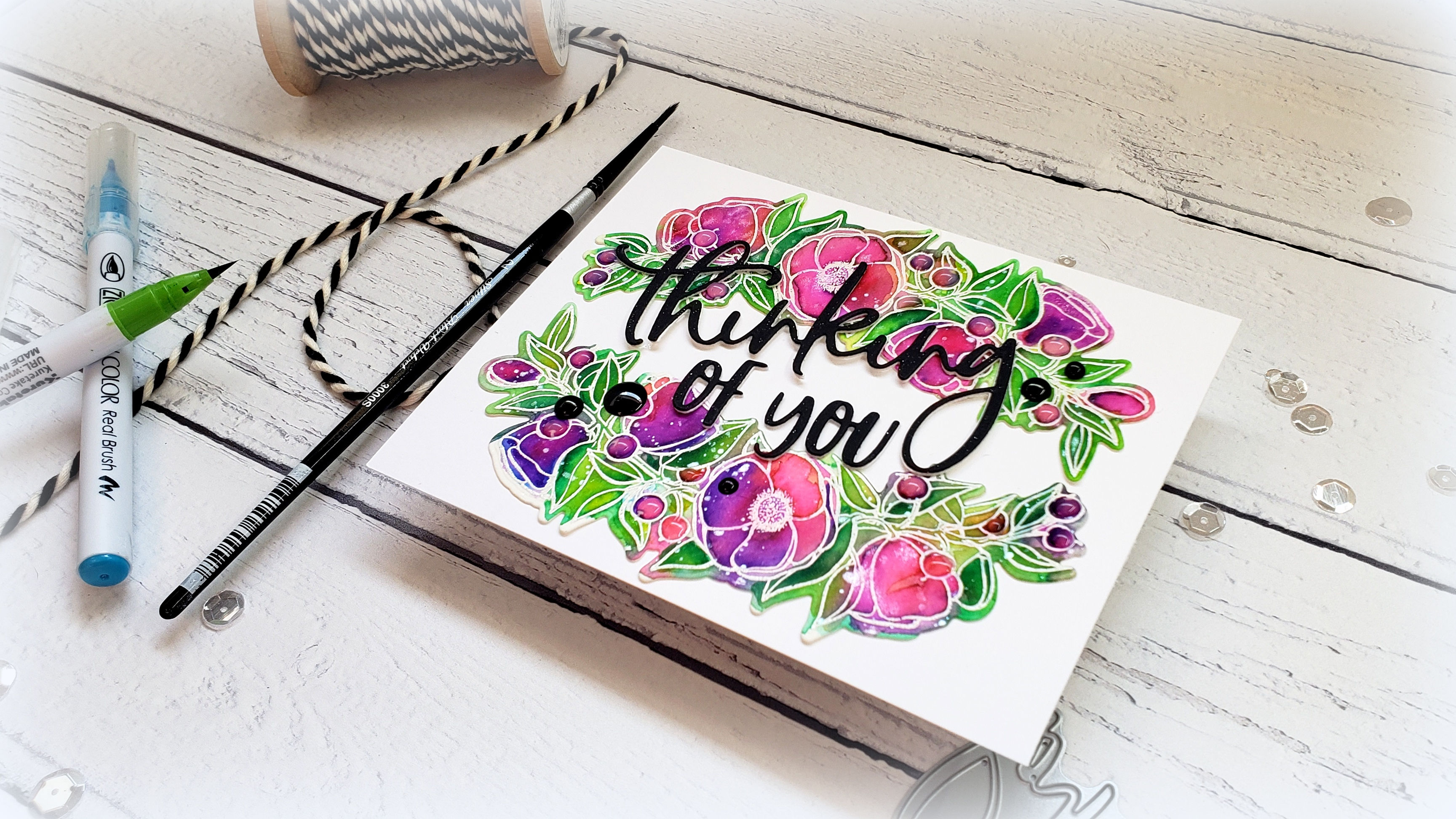 Quick Zig Clean Color Watercolor Flowers with Kelly Latevola