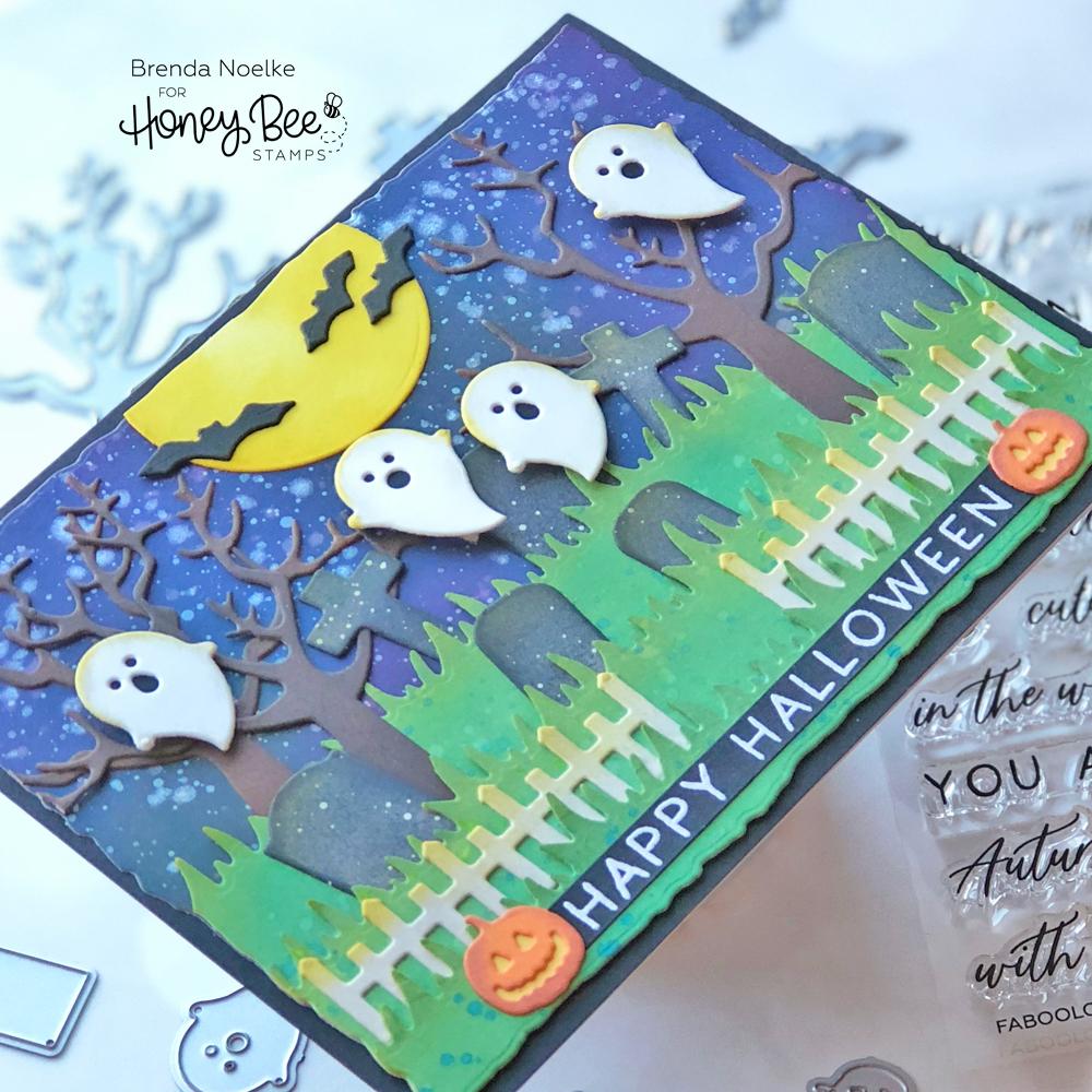 Happy Halloween – Graveyard Scene