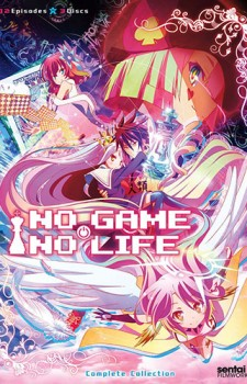 dvd No Game No Life
