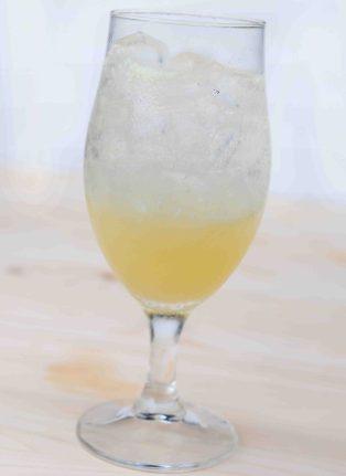 蝶豆花蜂蜜檸檬氣泡水製作步驟4