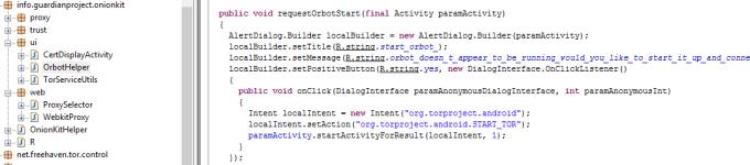 Orbot TOR Client class
