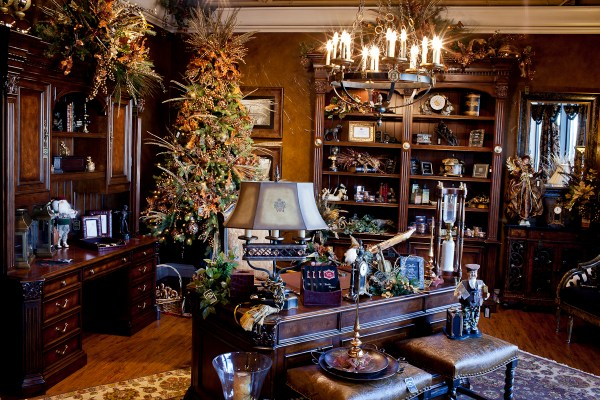 Home Office Decorating Ideas Christmas