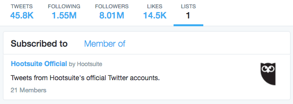 Generate social chat by optimizing your Twitter account using lists