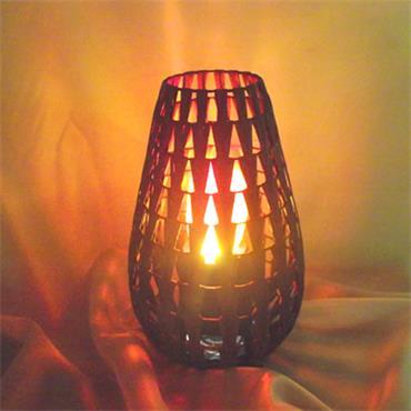 Chevron Luxa Lamp
