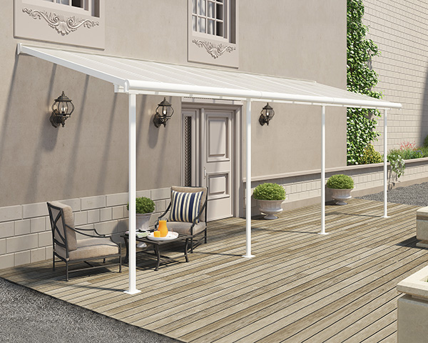 Sierra Patio Cover - White