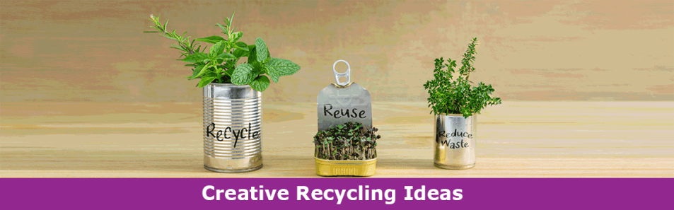 Easy creative recycling projects