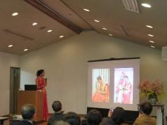 「インドについて」を発表されたニキータさん