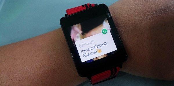 android wear soporte whatsapp