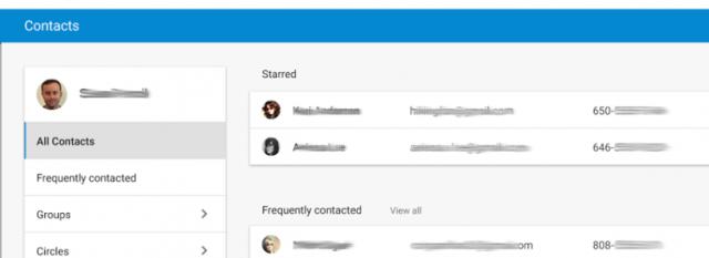 app contacts google
