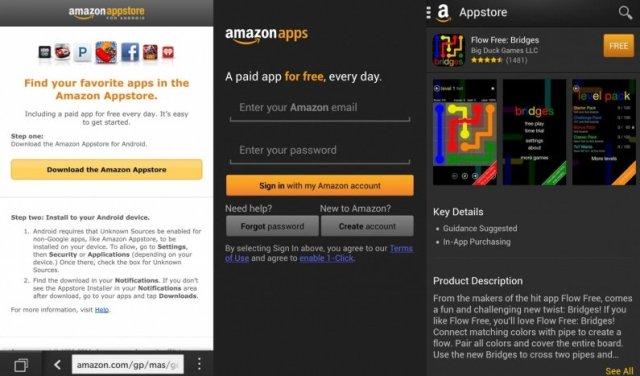 app store de amazon en blackberry