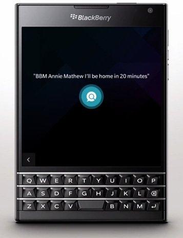 asistente de blackberry