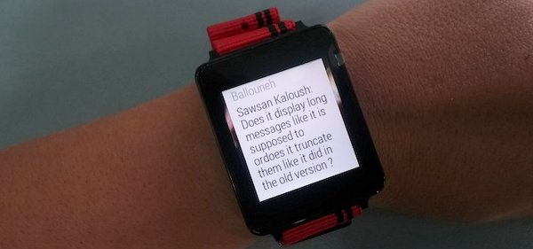 conversion android wear whatsapp