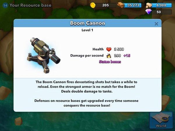 crear defensa en boom beach