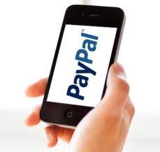 pagar con paypal smartphone