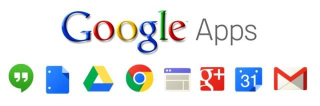 servicios de google apps