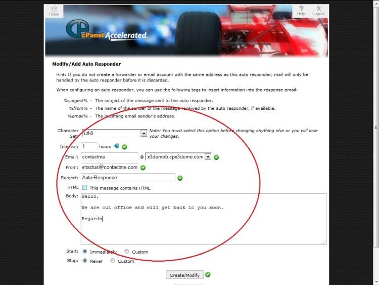 AutoResponder, What are the AutoResponders?, Hostripples Web Hosting