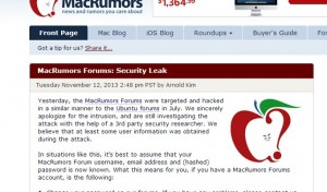 , MACRUMORS FORUMS HACKED  !!!, Hostripples Web Hosting