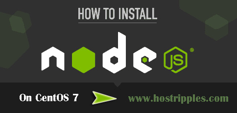Node.js, How to Install Node.js On CentOS 7, Hostripples Web Hosting