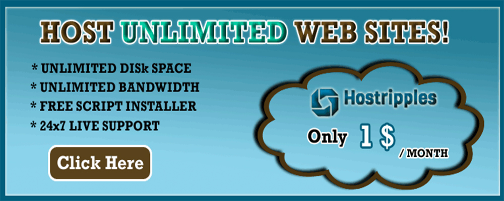 cPanel Shared Hosting, cPanel Shared Hosting |1 Dollar Month | Softaculous | Cloudlinux | Cloudflare, Hostripples Web Hosting