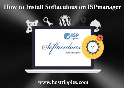 ISPmanager, How to Install Softaculous on ISPmanager, Hostripples Web Hosting