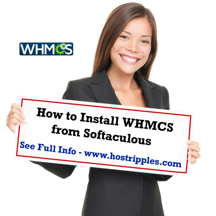 WHMCS, How to install WHMCS from Softaculous, Hostripples Web Hosting