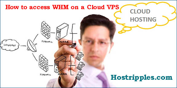 Cloud VPS, How to access WHM on a Cloud VPS, Hostripples Web Hosting