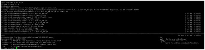Installation of MySQL on CentOS 7, Hostripples Web Hosting
