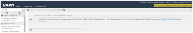 Understanding cPanel Security Advisor Notices in WHM – Hostripples, Hostripples Web Hosting