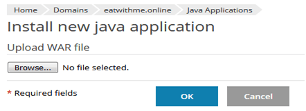 How to install Java Application from Plesk?, Hostripples Web Hosting