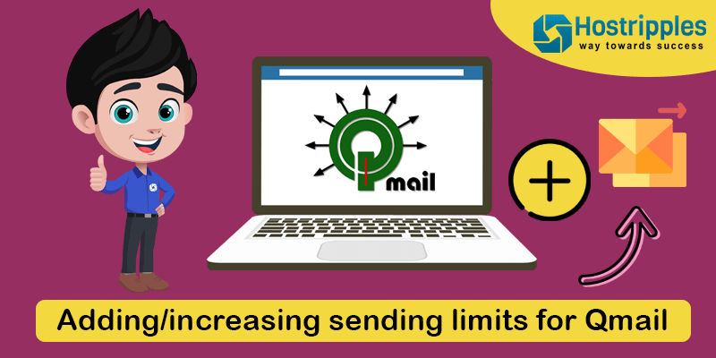 Adding/increasing sending limits for Qmail, Hostripples Web Hosting