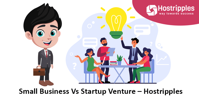 Small Business Vs Startup Venture – Hostripples, Hostripples Web Hosting