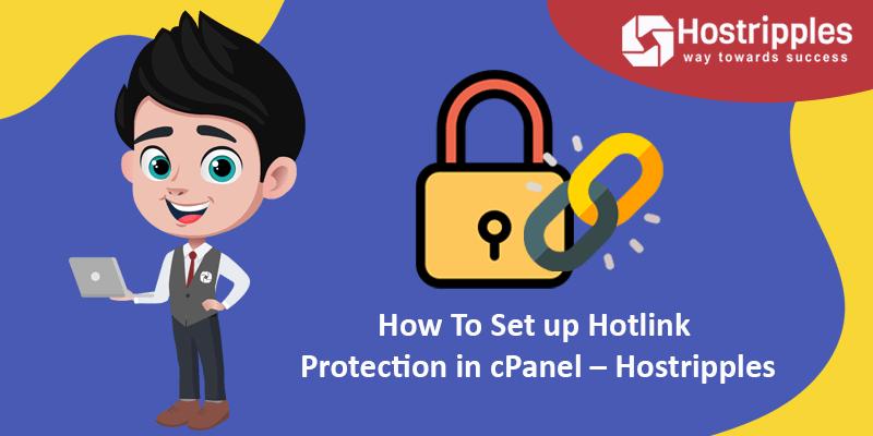 How To Set up Hotlink Protection in cPanel – Hostripples, Hostripples Web Hosting