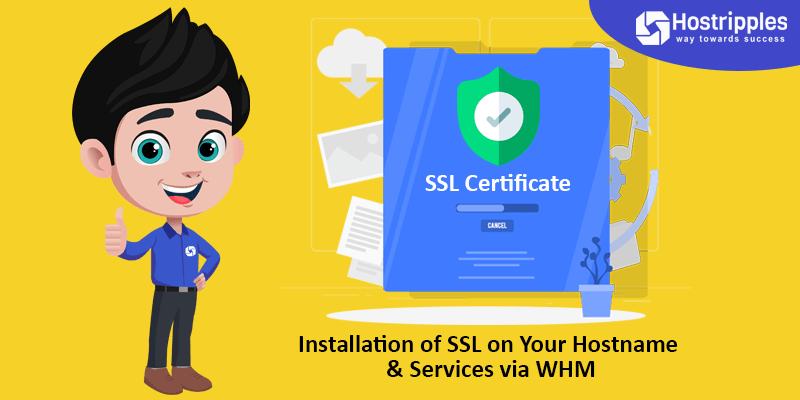 Installation  of  SSL on Your Hostname & Services via WHM, Hostripples Web Hosting