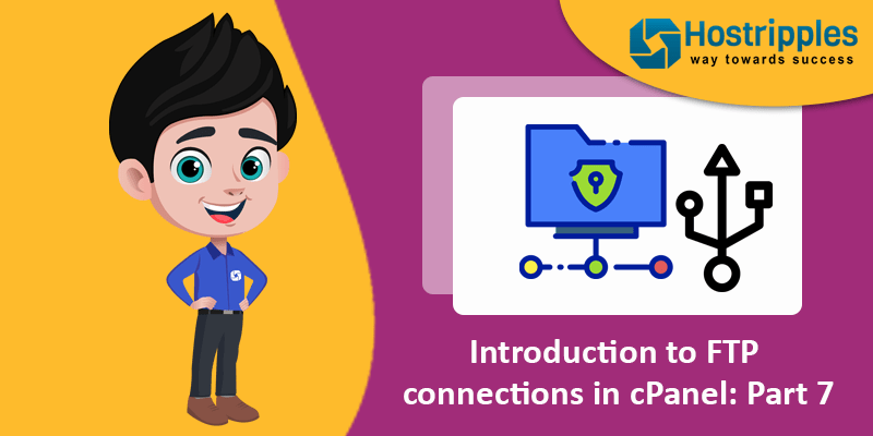 Introduction to FTP connections in cPanel: Part 7, Hostripples Web Hosting