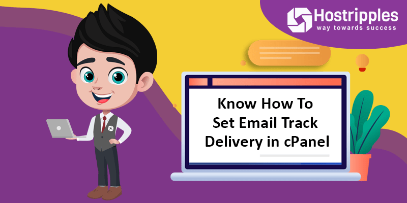Know How To Set Email Track Delivery in cPanel, Hostripples Web Hosting
