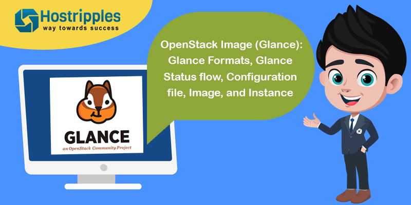 OpenStack Image Glance, OpenStack Image (Glance): Glance Formats, Glance Status flow, Configuration file, Image, and Instance, Hostripples Web Hosting
