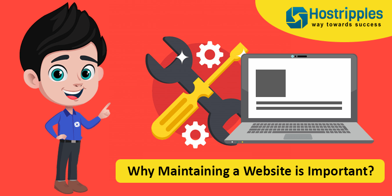 Why Maintaining a Website is Important??, Hostripples Web Hosting